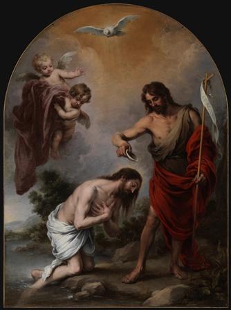 2.-El-Bautismo-de-Cristo-Murillo