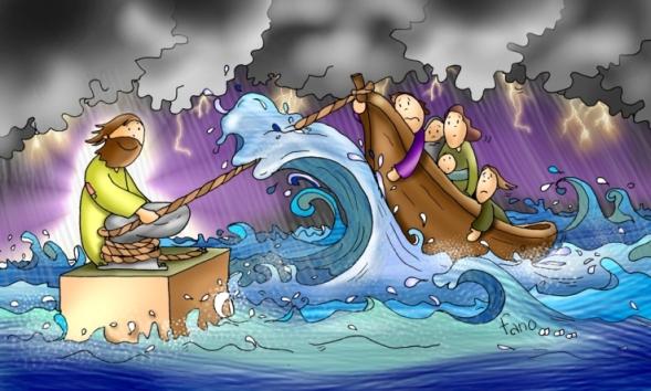 Jesus-tempestad