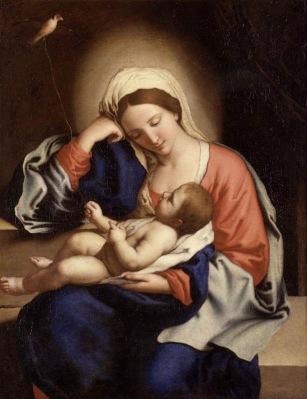 Madonna with the Christ Child_SASSOFERRATO (2)