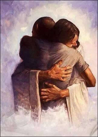 Abrazo de Jesús