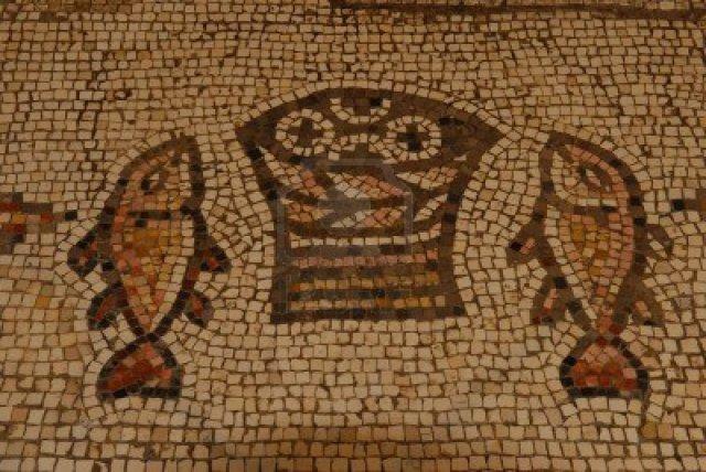 mosaico-di-tabgha-israele