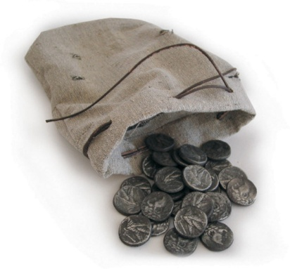 Traición de Judas-monedas