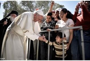 Papa Francisco-Lesbos 5