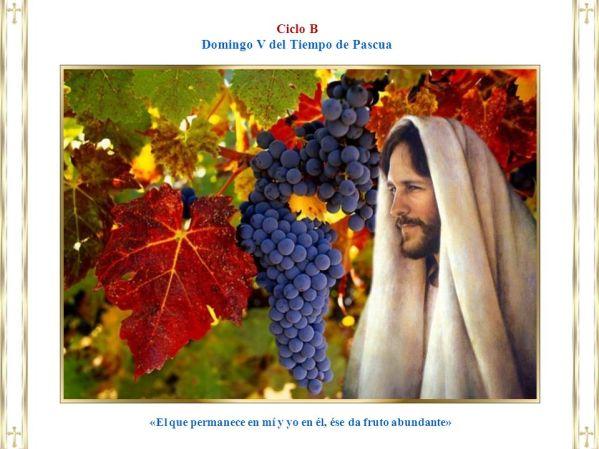 «El que permanece en mí y yo en él, ése da fruto abundante»