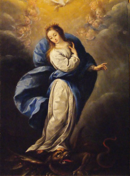 Inmaculada_Virgen María